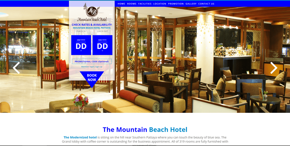 Mountain Beach Hotel Pattaya